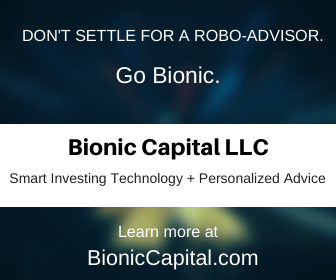 Bionic Capital - Don't settle for a robo-advisor. Go Bionic.